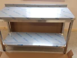 Nerūdijančio plieno stalai iš sandėlio