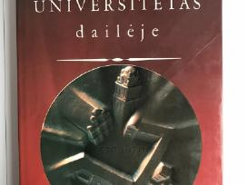 """Knyga """"Vilniaus universitetas daileje"""