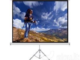 Led Projektoriaus ir ekrano su stovu nuoma - nuotraukos Nr. 5