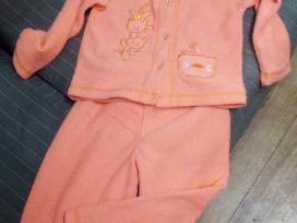 Minkšta, šilta pižama mergaitei