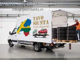 Siuntų gabenimas Lietuva - Švedija - Lietuva - nuotraukos Nr. 2