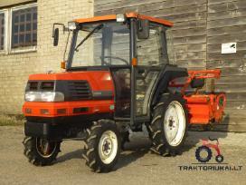 Japoniški mini traktoriai Kretinga - nuotraukos Nr. 2