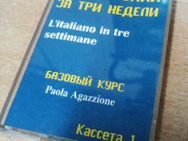 Mokomosios kasetės rusiškai, išmokti itališkai
