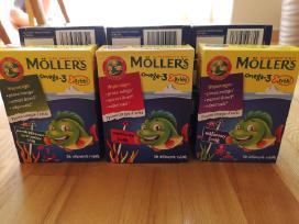 Mollers Junior žuvų taukai kramtomos žuvelės