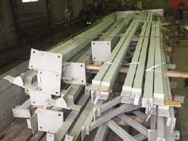 Metalo konstrukcijų, vartų, sąramų, tvorų gamyba