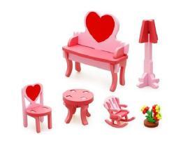 Mediniai baldai lėlėms