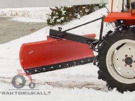 Sniego stumdytuvas, sniego peilis mini traktoriams