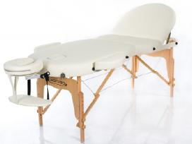 Restpro® Vip Oval 3 Cream masažo stalas