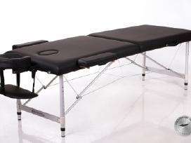 Restpro Alu 2 (L) Black sulankstomas masažo stalas