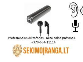 Profesionalus diktofonas automatinis balso įrašyma