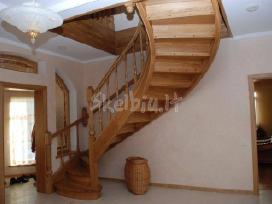 Laiptai Laiptu gamyba medzio pakopos - nuotraukos Nr. 6