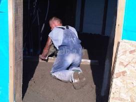 Grindu betonavimas ir paruosimas