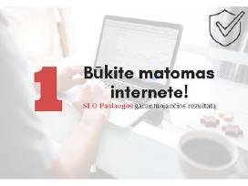 Internetinių Svetainių Kūrimas ir Seo Paslaugos