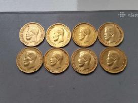 Brangiai pirksiu auksines monetas: rublius, $.