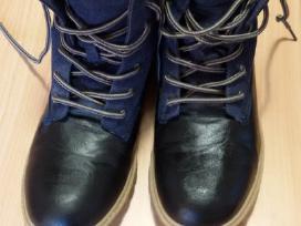 Odiniai šilti žieminiai batai