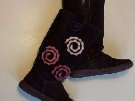 Odiniai batai su vilna mergaitei 27 dydis