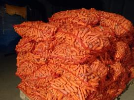Pašarinės morkos, bulvės