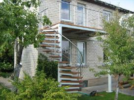 Metaliniai laiptai tureklai konstrukcijos gamyba - nuotraukos Nr. 2