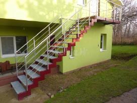 Metaliniai laiptai tureklai konstrukcijos gamyba - nuotraukos Nr. 3