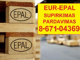 Euro padeklai - supirkimas visoje Lietuvoje
