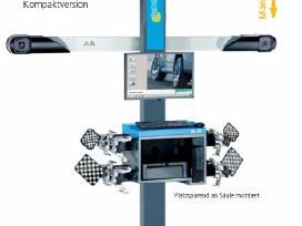 Vokiškas 3D ratų suvedimo stendas Beissbarth Ml33