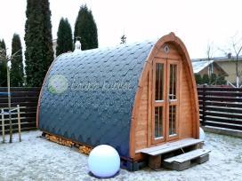 Lauko pirtis sauna 2.4 m x 4.0 m