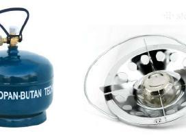 Duju balionai duju sildytuvai/virykles/autoklavas