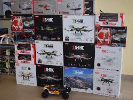 Rc dronai - mašinos - lėktuvai - sraigtasparniai