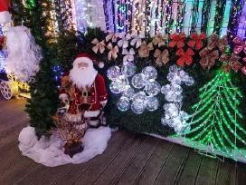 Kalėdiniai papuošimai namams ir ne tik