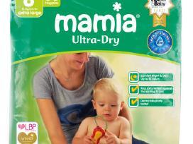 Sauskelnes: Mamia, Asda 11 € nemokamas pristatymas