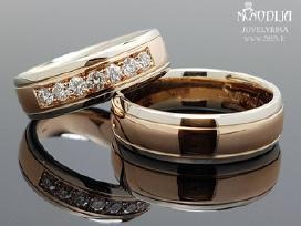 Vestuviniai žiedai. Individuali gamyba-pardavimas - nuotraukos Nr. 5