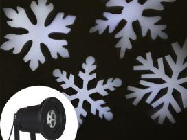 Kalėdinis lauko lazerinis projektorius Snaigės - nuotraukos Nr. 2