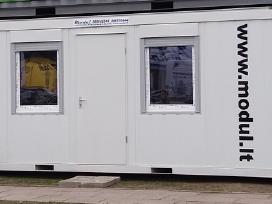 Buitinis / biuro konteineris Konteinerinis namelis