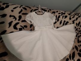 Balta suknelė mergaitėms
