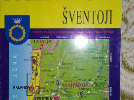 Žemėlapis Palanga-šventoji