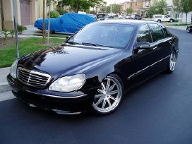 Mercedes S w220 Airmatic dalys