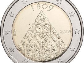 """Suomija 2 euro 2009 """"Suomijos autonomija"""" Unc"""