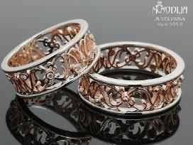 Vestuviniai žiedai. Individuali gamyba-pardavimas - nuotraukos Nr. 2
