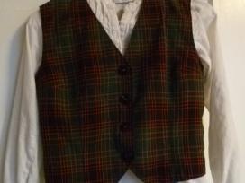 Tautinio kostiumo liemenė ir marškinėliai