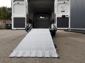 Aliuminė pakrovimo rampa mikroautobusams - nuotraukos Nr. 2