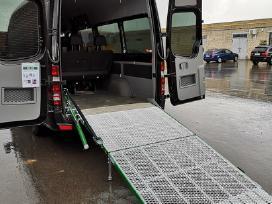 Aliuminė pakrovimo rampa mikroautobusams - nuotraukos Nr. 4