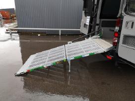 Aliuminė pakrovimo rampa mikroautobusams - nuotraukos Nr. 5