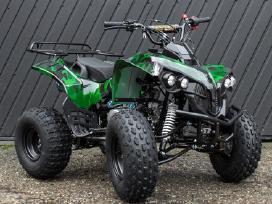 """Keturratis 8"""" 125cc Qwatv-02fr camo žalias"""