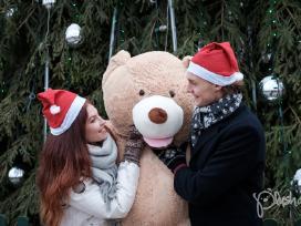 Dideli Kokybiški Pliušiniai meškinai Teddy Bear - nuotraukos Nr. 2