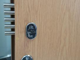 Šarvuotų durų, seifų remontas