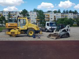 Vikšrinio Bobcat nuoma žemės kasimo darbai Alytuje - nuotraukos Nr. 5