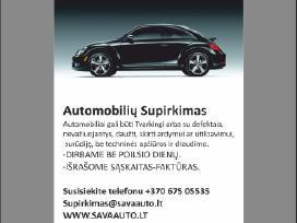 Šiaulių apskrities auto supirkimas. Šiauliai