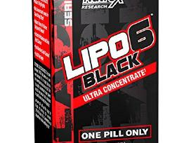 Usa Versija Nutex Lipo 6 Black Ultra Concentrate