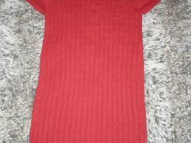Mexx raudona medvilninė tunika-suknelė