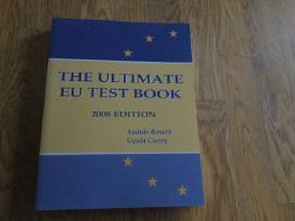 Knyga,kuri padės pasiruošti Epso konkursui.